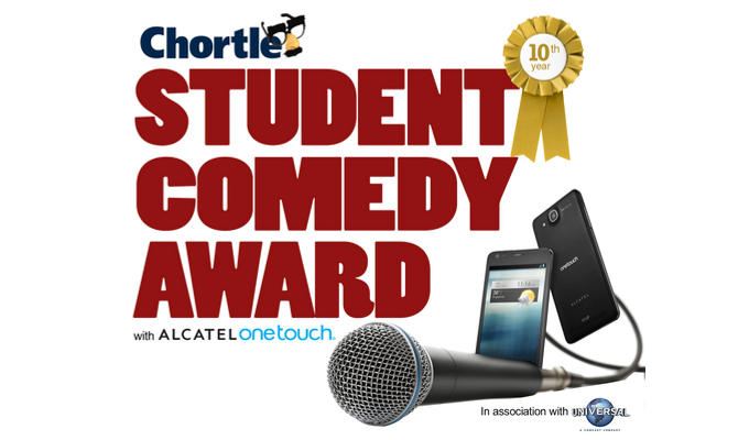 Watch the Chortle Student Comedy Award final