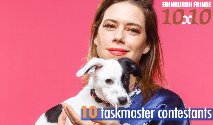 Edinburgh Fringe 10x10: Ten Taskmaster contestants | You've see them do silly things... now hear them say silly things