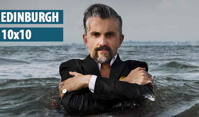 Edinburgh 10x10: 5. Get in the sea! | 10 comedians who have been photographed in a body of water