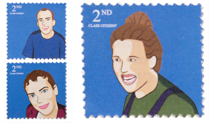 Stamp out this unfairness! | Comedians feature on fake stamps for charity campaign