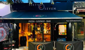 67 Pizza & Lounge Bar