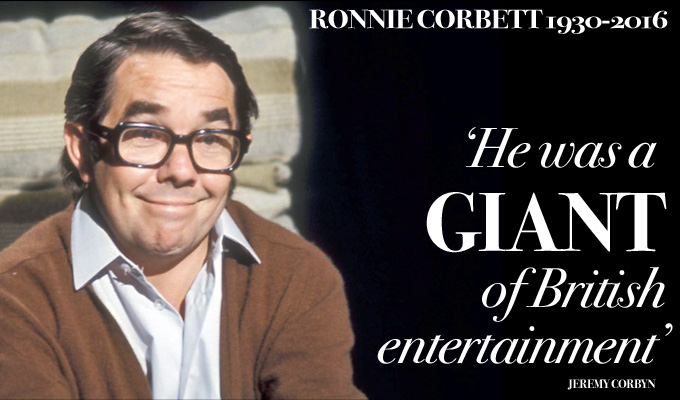 ...And it's goodnight from him | Ronnie Corbett dies at 85