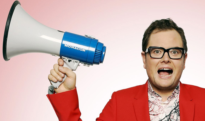 New C4 pilot for Alan Carr | With Gogglebox's Scarlett Moffatt