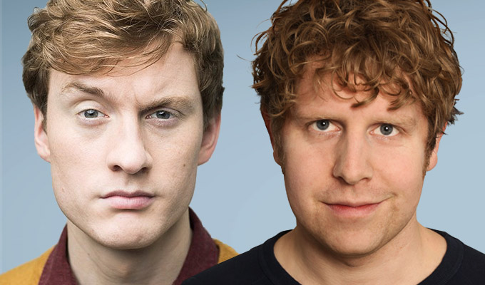James Acaster and Josh Widdicombe to host new panel show | Full series of Hypothetical for Dave