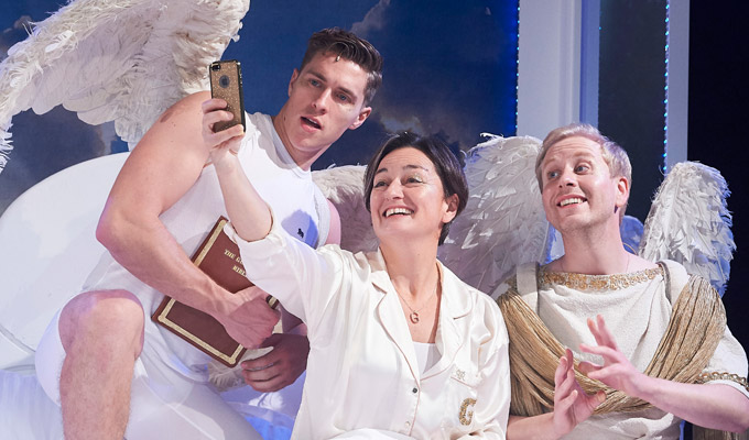 Act Of God, with Zoe Lyons | Theatre review by Steve Bennett at the Vaults, London