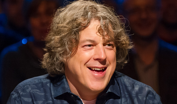 Al's pals | Revealed: Guests for the new series of Alan Davies As Yet Untitled