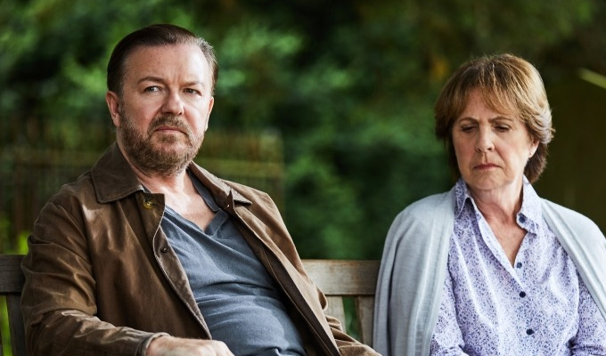 Ricky Gervais plans After Life series 2 | 'I've a spring in my step'