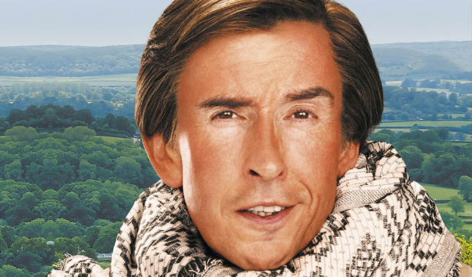 Revealed: Alan Partridge's new book | Travel writing tome to be called Nomad