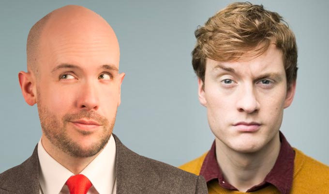 James Acaster and Tom Allen up for Melbourne award | Comedy festival names its nominees – after severing links to Barry Humphries