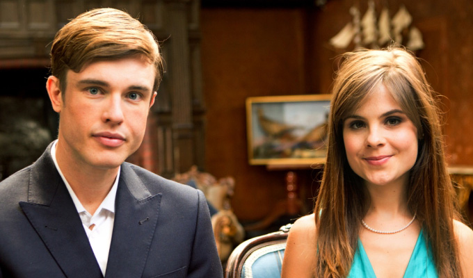 Second series for Almost Royal | Ed Gamble and Amy Hoggart filming in the States