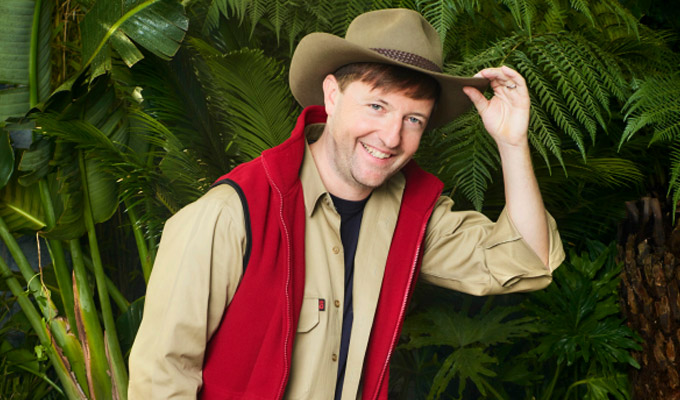 Andrew Maxwell's the jungle outsider | Long odds on comic taking the I'm A Celebrity crown