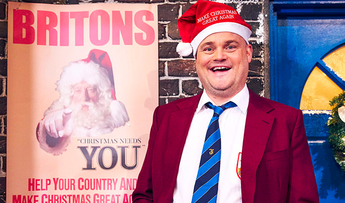 MXGA: Make Xmas Great Again! | The best of the week's comedy on TV and radio