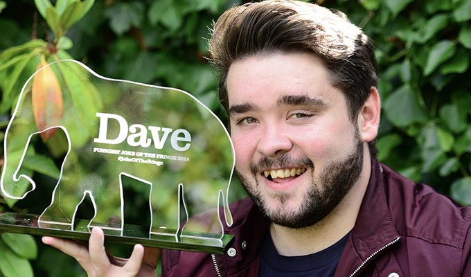 Adam Rowe wins Dave's Joke Of The Fringe | Read all the top-rated gags here
