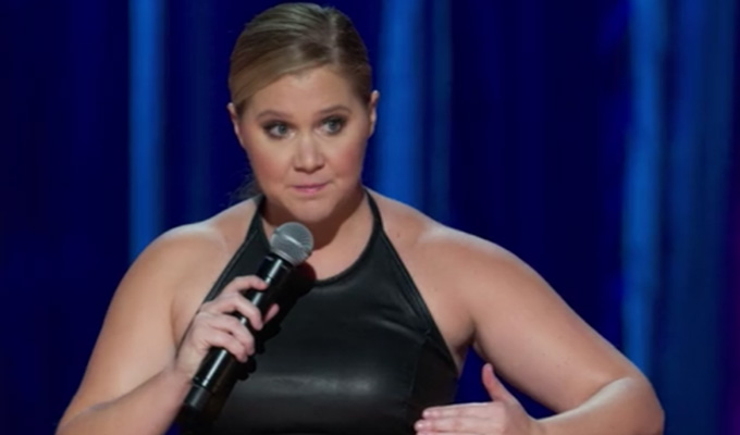 Amy Schumer accused of joke theft again | As 'alt-right trolls' try to drive down her Netflix ratings