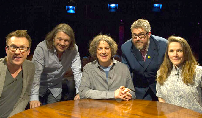 Alan Davies talk show 'stole our ideas' | Anger of Green Room creator Paul Provenza