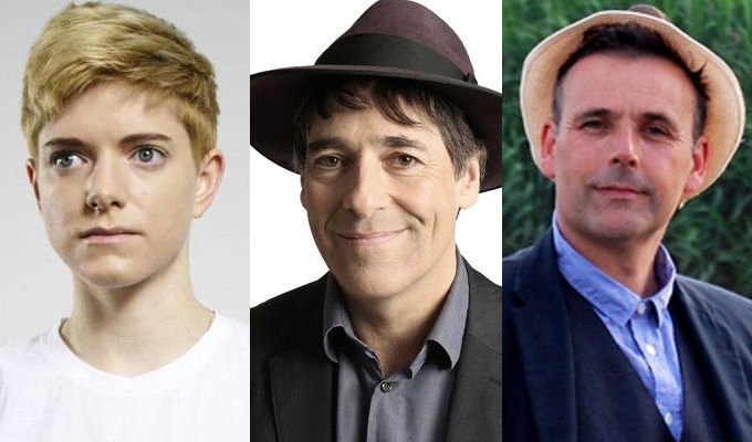 Comedians up for BBC audio awards | Mae Martin, Mark Steel and Rob Newman