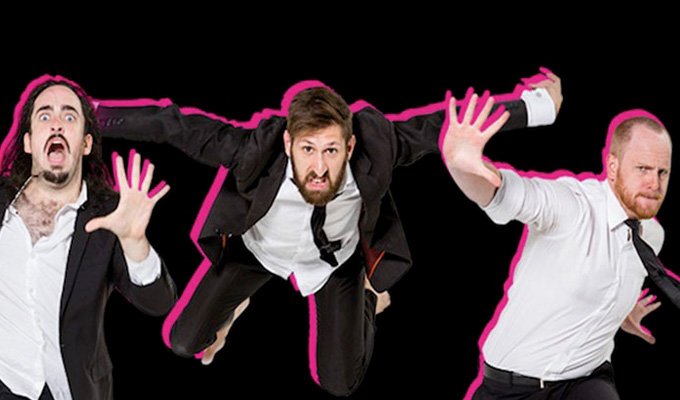 10 things that are funny in Australia but not in Edinburgh | Antipodean sketch trio Aunty Donna don their ripple pants...