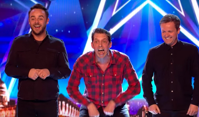 Jonny Awsum appears on Britain's Got Talent | ...and gets Ant & Dec on stage
