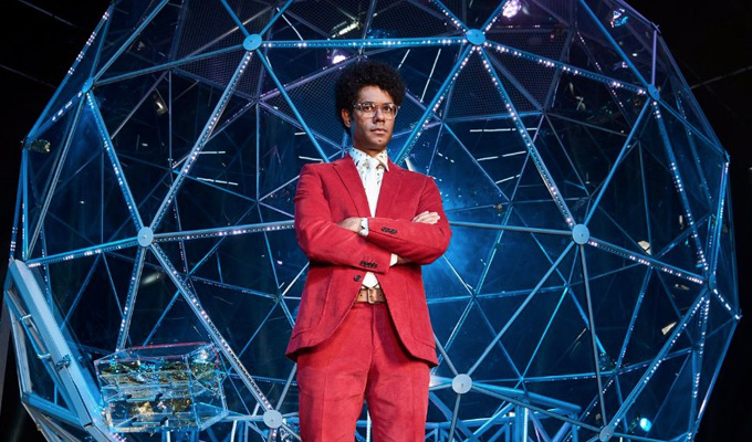 First look at Richard Ayoade on The Crystal Maze | Series starts next month