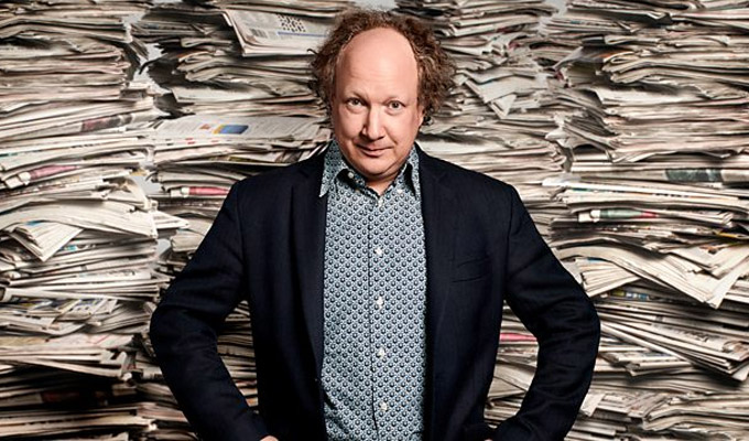Andy Zaltzman secures the News Quiz chair | Radio 4 say the job's his as his initial stint comes to an end