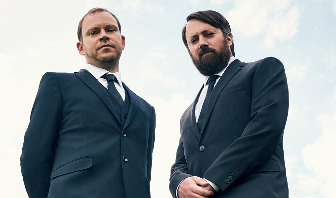 Back will be back | Channel 4 orders a second series of Mitchell and Webb comedy