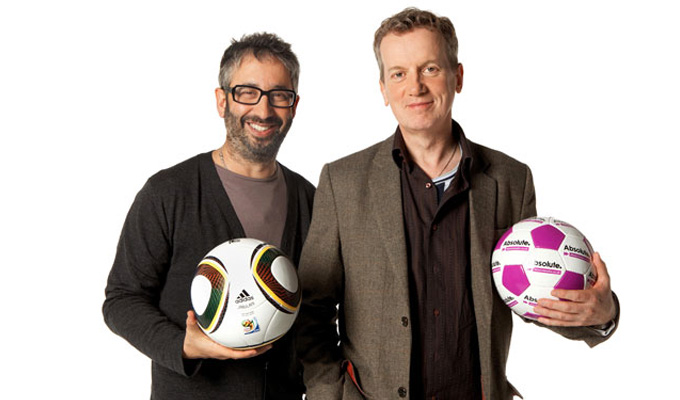 Baddiel and Skinner to re-release Three Lions... again! | 'We've milked it,' Frank admits