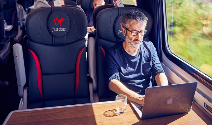 Baddiel pens kids' story for Virgin Trains | Tale available onboard tomorrow