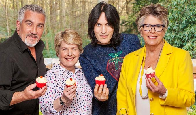 Sandi Toksvig quits Bake Off after three years | Noel Fielding says he feels like 'Tom Without Jerry'