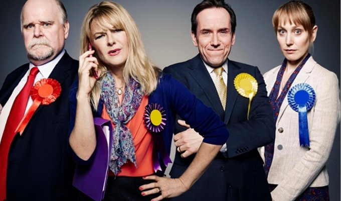 C4 orders 'real time' election comedy | From the Drop The Dead Donkey duo