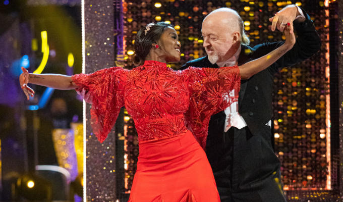 A Smooth performance from Bill Bailey | Comic ends up mid-table in Strictly