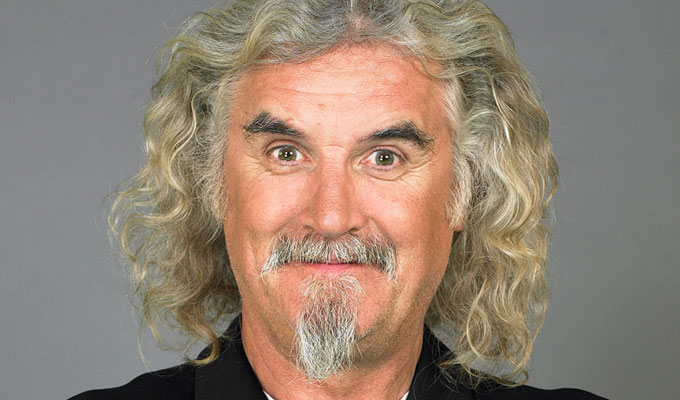 Billy Connolly's 50-year career honoured | National Television Awards hail comic's talents
