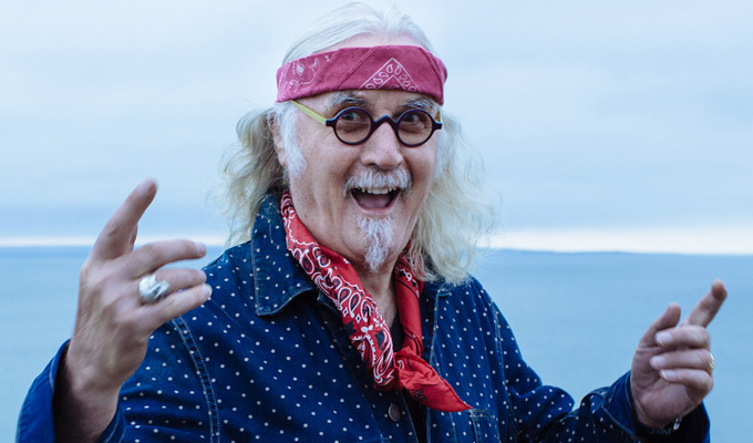 Win a Billy Connolly DVD | Tracks Across America, featuring a previously unseen episode
