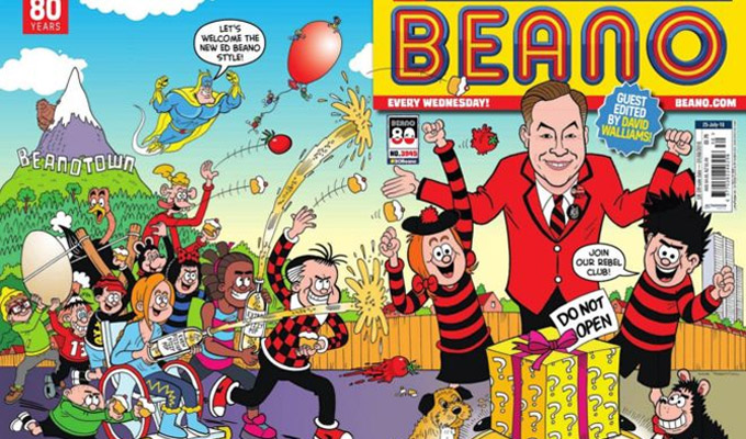 David Walliams guest edits The Beano | For its 80th anniversary