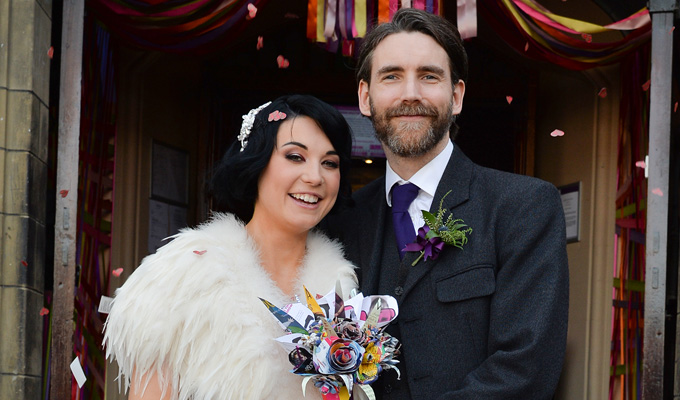 Welcome to the Weddingburgh Fringe! | Comic Bec Hill ties the knot