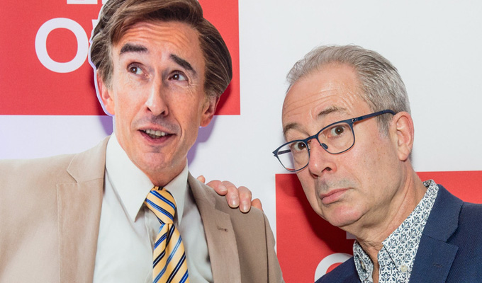 Stars turn out for Alan Partridge's return | Celebs get a sneak preview of character's comedback