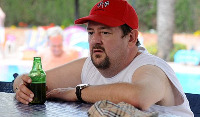 Johnny Vegas back in Benidorm | ITV orders seventh series