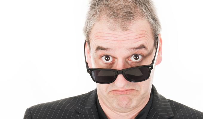 Boothby Graffoe: Scratch! | Gig review by Jay Richardson at the Glasgow Comedy Festival