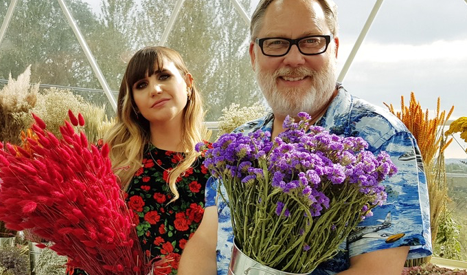 'It's not Gardeners' World; it's punk rock gardening' | Vic Reeves and Natasia Demetriou on The Big Flower Fight