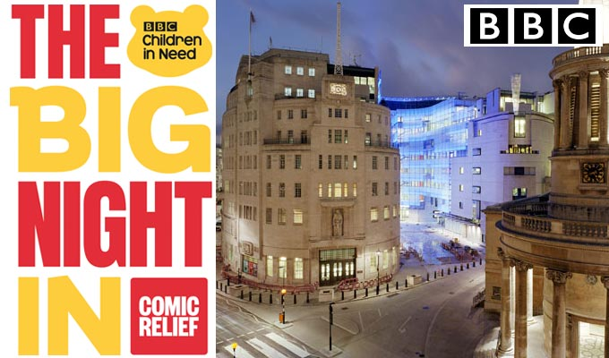 BBC Plans Three-Hour Fundraising Special 'The Big Night In'