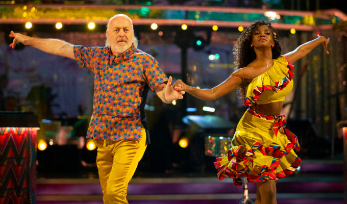 Three?! Bill Bailey stunned by miserly Strictly score | Comic makes his dancing debut