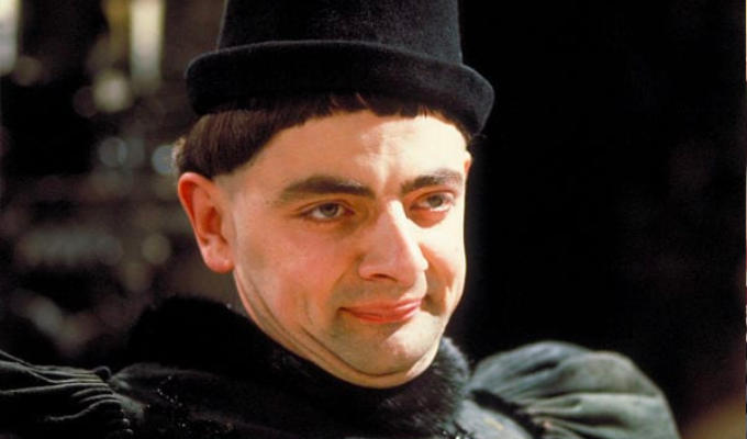 Now Blackadder gets an 'offensive language' warning | Racist slur in series 1