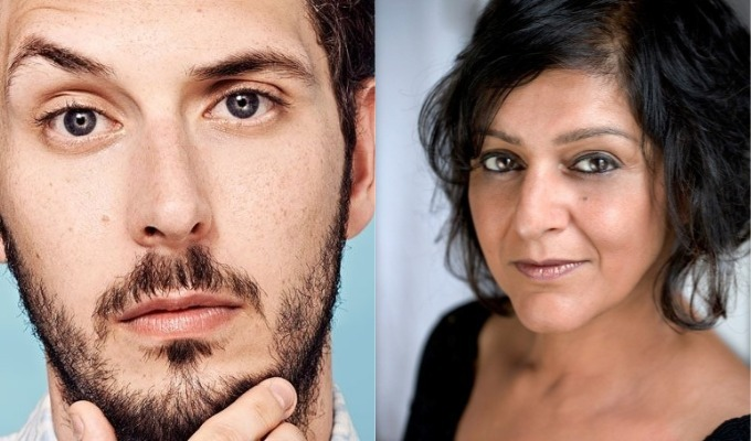 Blake Harrison and Meera Syal join ITV's refugee comedy : News 2019 :     Chortle : The UK Comedy Guide