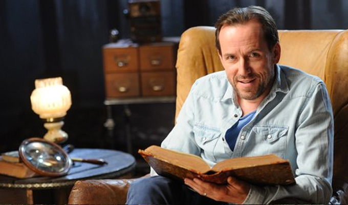 Ben Miller: Kids' stories should be scarier | ...and he pays tribute to Rik Mayall