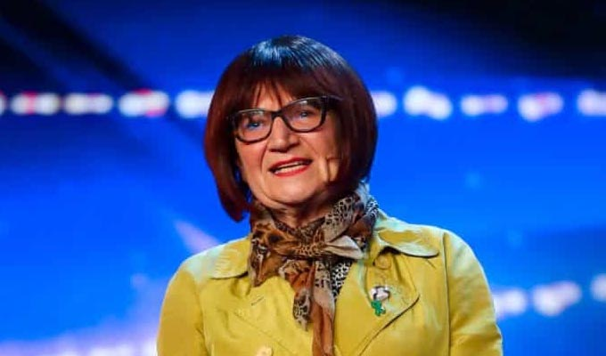 Nice work! | Barbara makes the next round of Britain's Got Talent