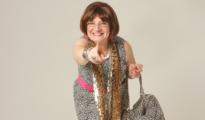 Barbara Nice to host Chortle's Fast Fringe | Edinburgh Fringe showcase returns to Underbelly in London