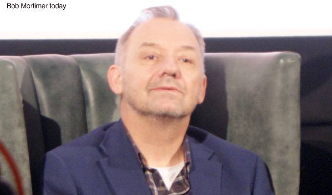 Bob Mortimer reveals his secret wedding | Ceremony half an hour before heart op