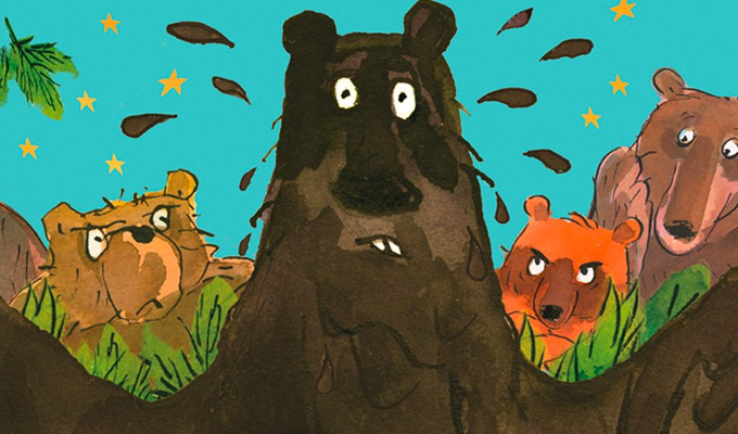 And another children's book from David Walliams | Boogie Bear out next month