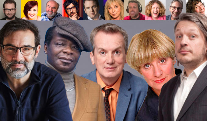 The Chortle comedy book festival is back! | 20 events with Frank Skinner, Adam Buxton, Richard Herring and more