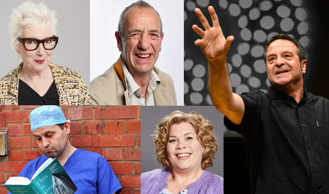 Chortle comedy book festival grows again | Top names in 2020 British Library line-up