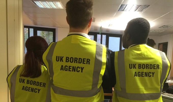 C5 orders improvised border guards mockumentary | Its first new comedy in a decade